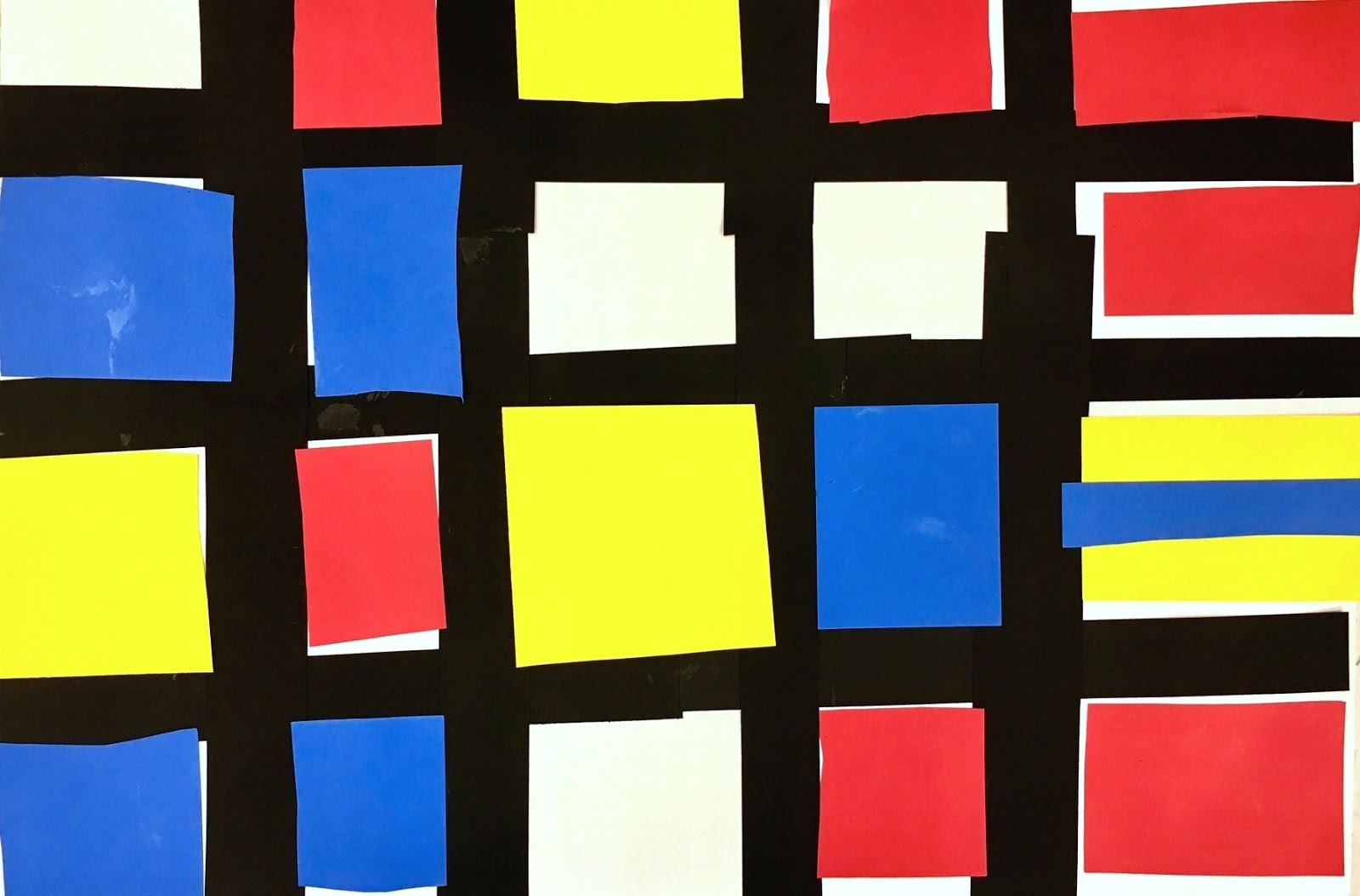 art at hosmer abstract paintings with primary colors