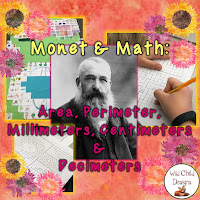 https://www.teacherspayteachers.com/Product/Math-Art-Project-Monet-Perimeter-Area-Metric-Measurement-2581062