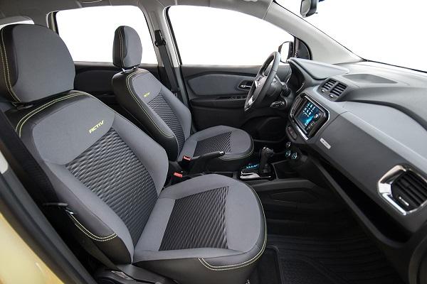 Interior Chevrolet Spin (2019)