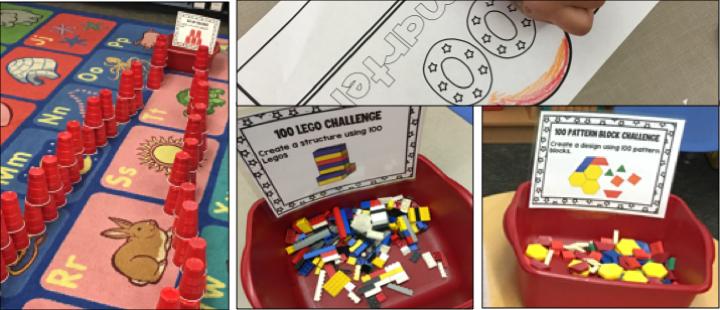 100the Day of School STEM Activities