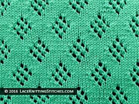 #21 Lace Diamonds