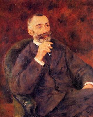 Pierre Auguste Renoir, ritratto di Paul Bérard, Collezionisti critici e mercanti
