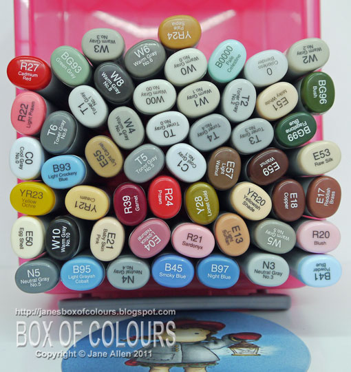 Jane's Box of Colours: 2011