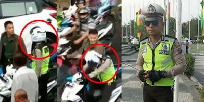 WOW Mengejutkan, Ternyata Polisi yang Dipukul Oknum TNI adalah Pemain Sinetron Ganteng Ganteng Serigala