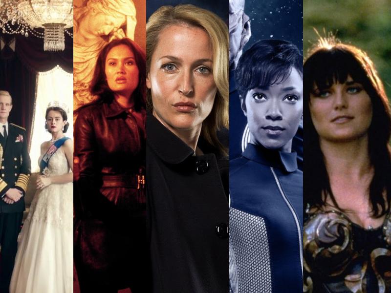 séries avec des heroïnes de femmes