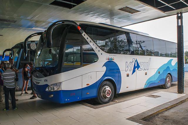 Bus de la compagnie Viazul