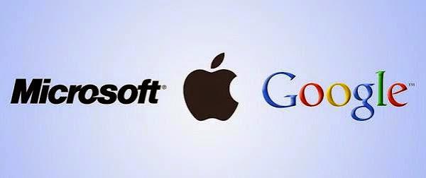 蘋果、微軟、Google的優點和弱點是什麼?