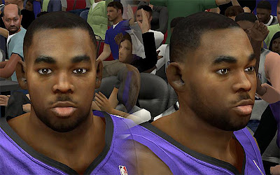 NBA 2K13 Marcus Thornton Cyberface Patch