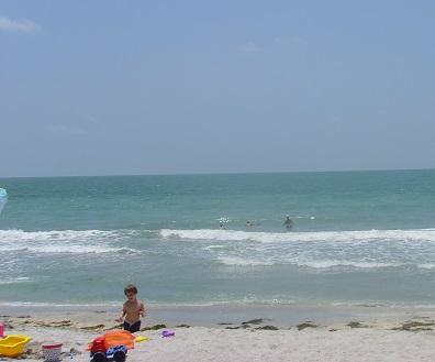 Blick auf den Strand von Venice Beach - Southwest Florida!