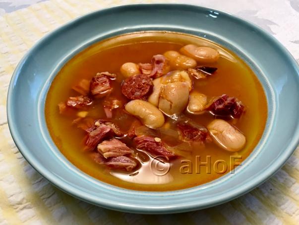 My Fabada Asturiana