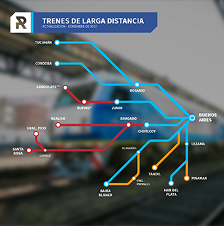 TRENES DE LARGA DISTANCIA