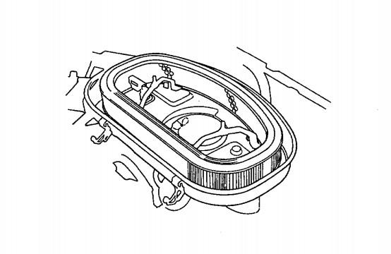 Elemen Filter Udara Versi Karburator