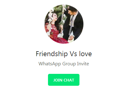 Friendship Vs love | WhatsApp Group Link (April 2018)