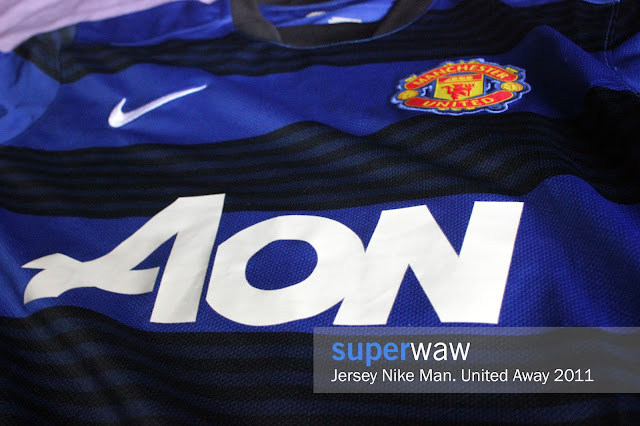 Jersey Manchester United Away 2011