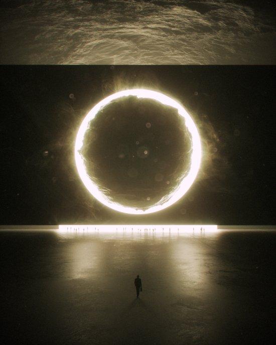Stuart Lippincott arte ilustrações digitais renders 3D ficção científica surreal alienígena
