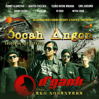 Lirik Lagu D'Gank - Aku Nusantara