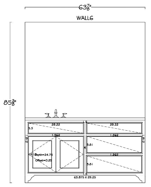 the lyons renovation  cabinet shop drawings