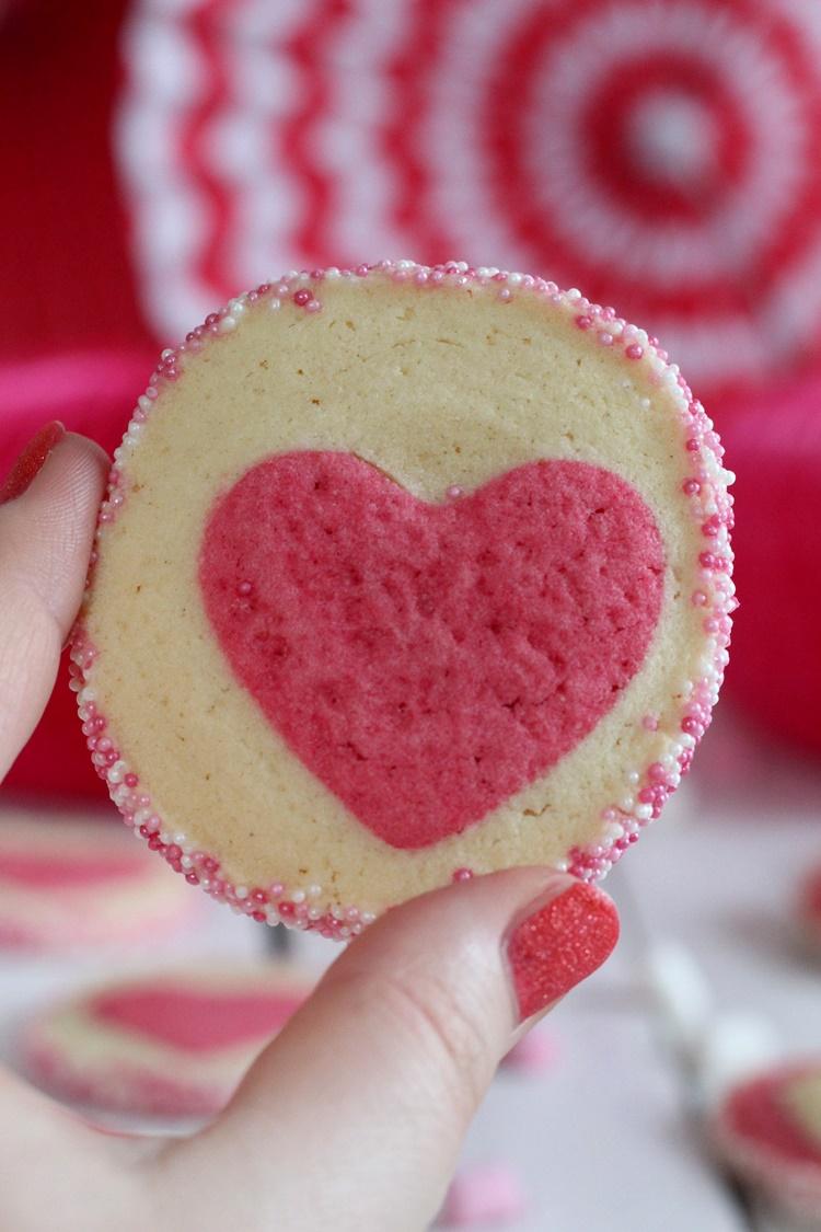 Sags Mit Keksen Herzkekse Zum Valentinstag Biskuitwerkstatt