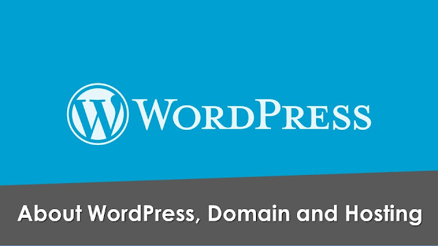 About WordPress web hosting and domain name. How to make a blog on WordPress? WordPress startup and hosting information.