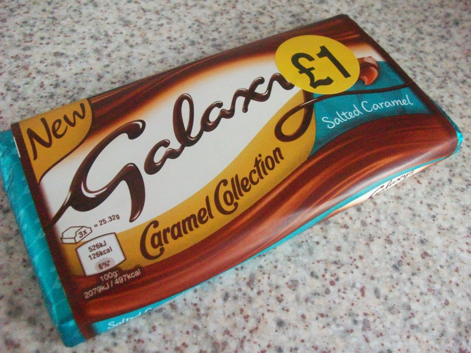 galaxy caramel collection salted caramel