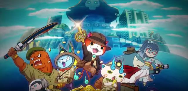 Yo-Kai Busters 2 por fin nos muestra cómo luce