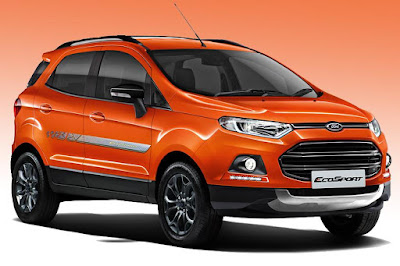 New 2016 Ford EcoSport Black Signature Edition image