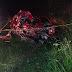 Dois jovens morreram em acidente entre carro e ônibus na BR-267 em Conceição do Rio Verde, MG