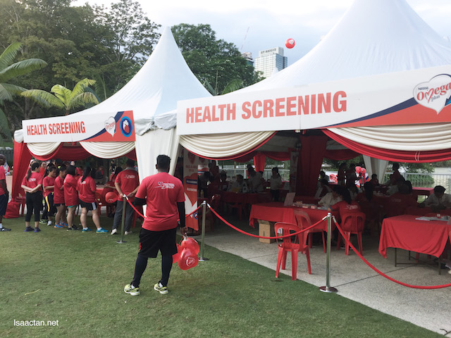 Free Health Screening available