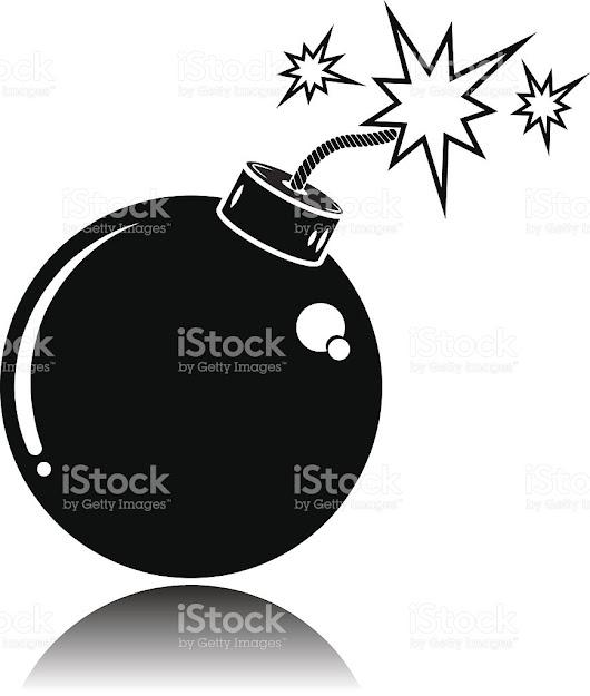 Bomb Royaltyfree Stock Vector Art