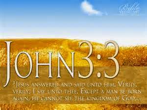 Gjoni 3:3, Rilindja prej Perendise, Riperteritja, besimi i krishtere, doktrine, Bibla