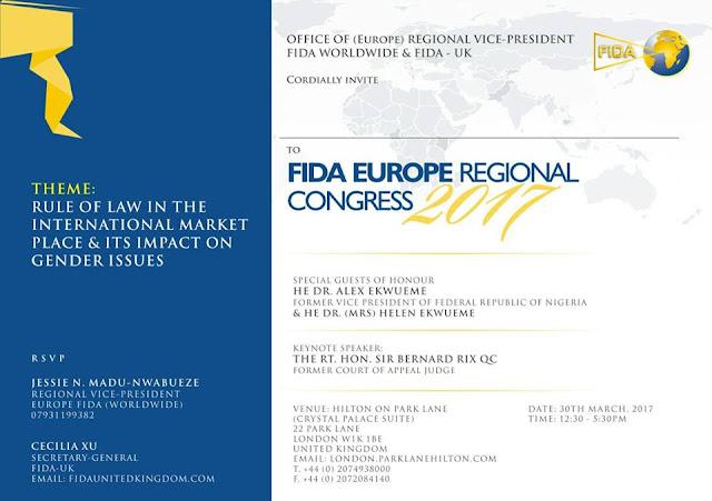 FIDA Europe Regional Congress 2017