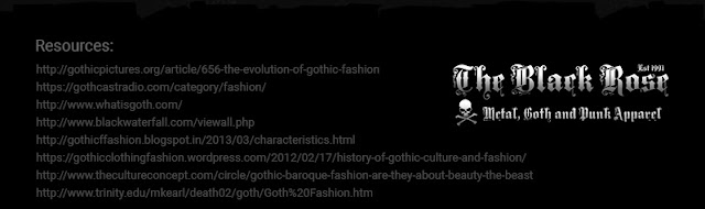 Gothic Fashion Resources