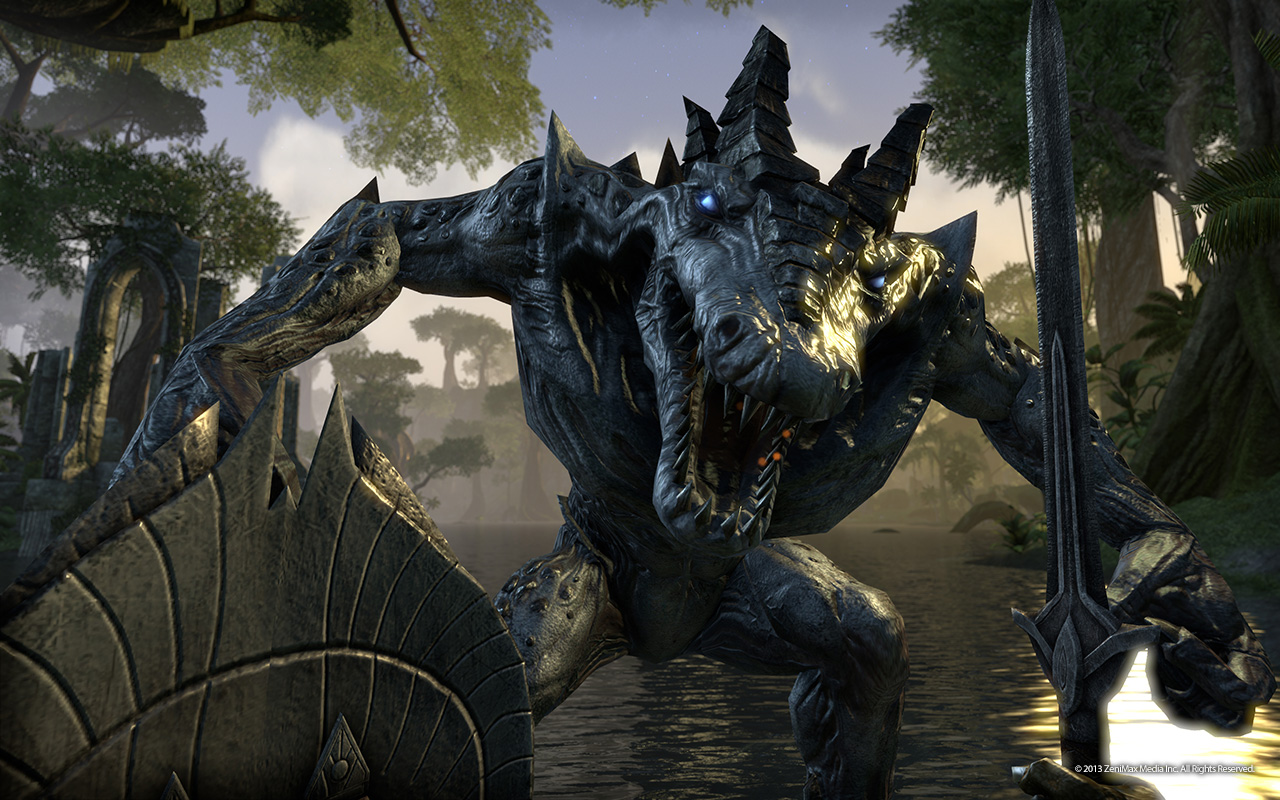 Geek of Oz: Skyrim: Special Edition (PS4) Review