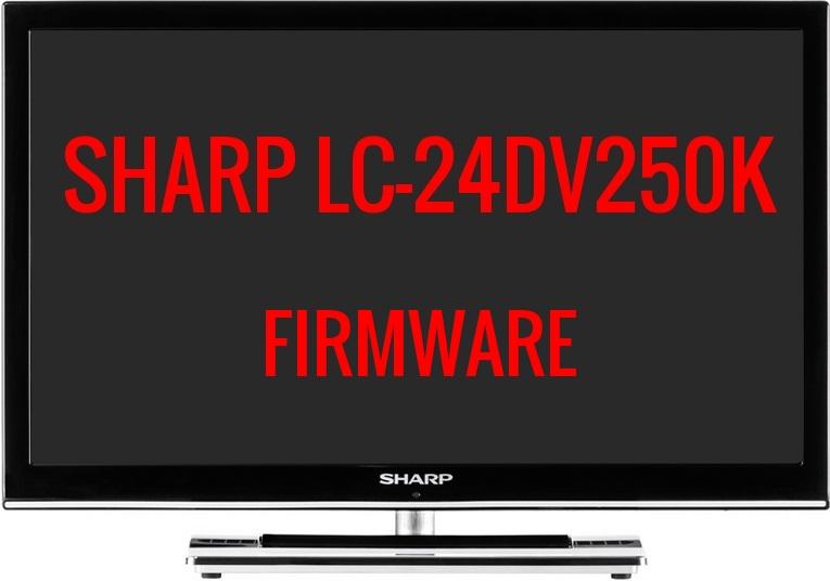 MEMORY DUMP TV: SHARP LC-24DV250K FIRMWARE