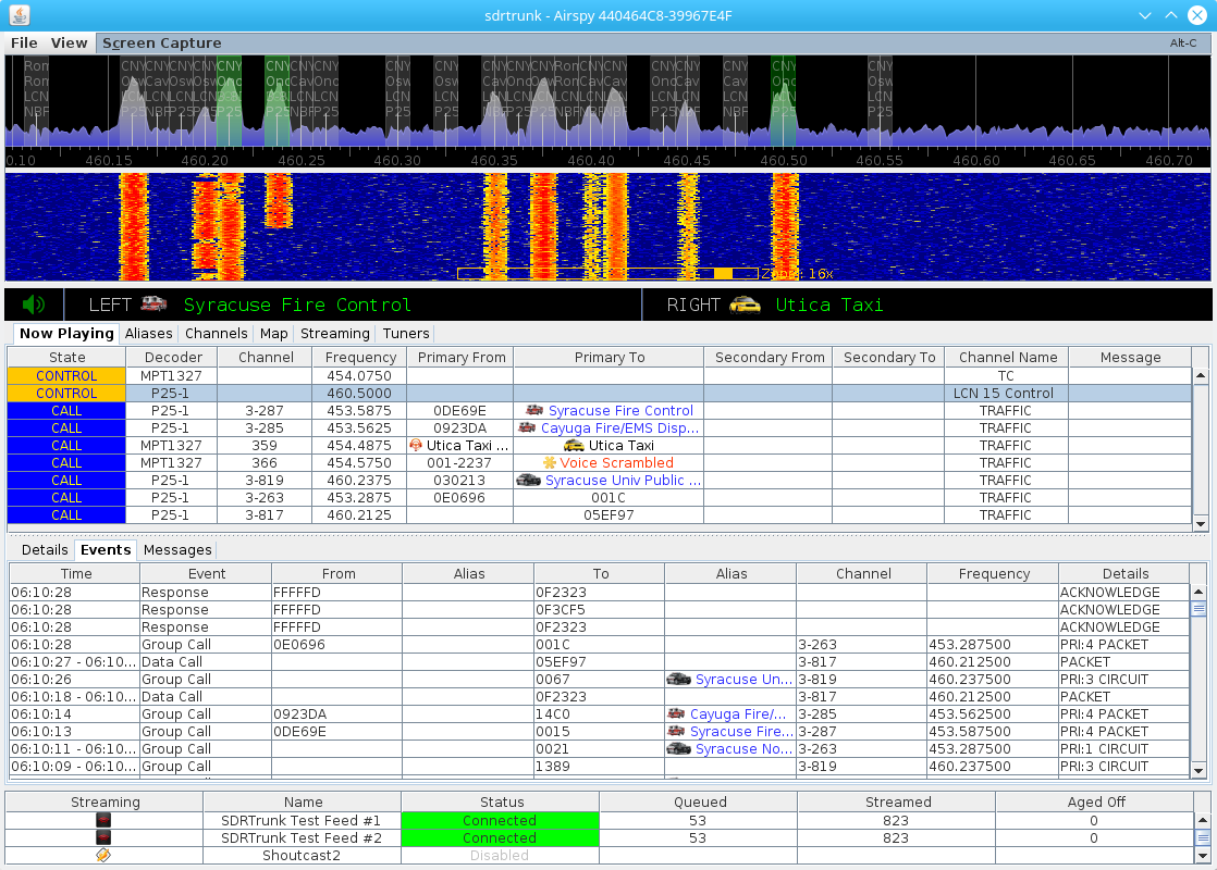 sdrtrunk - Tool For Decoding, Monitoring, Recording And