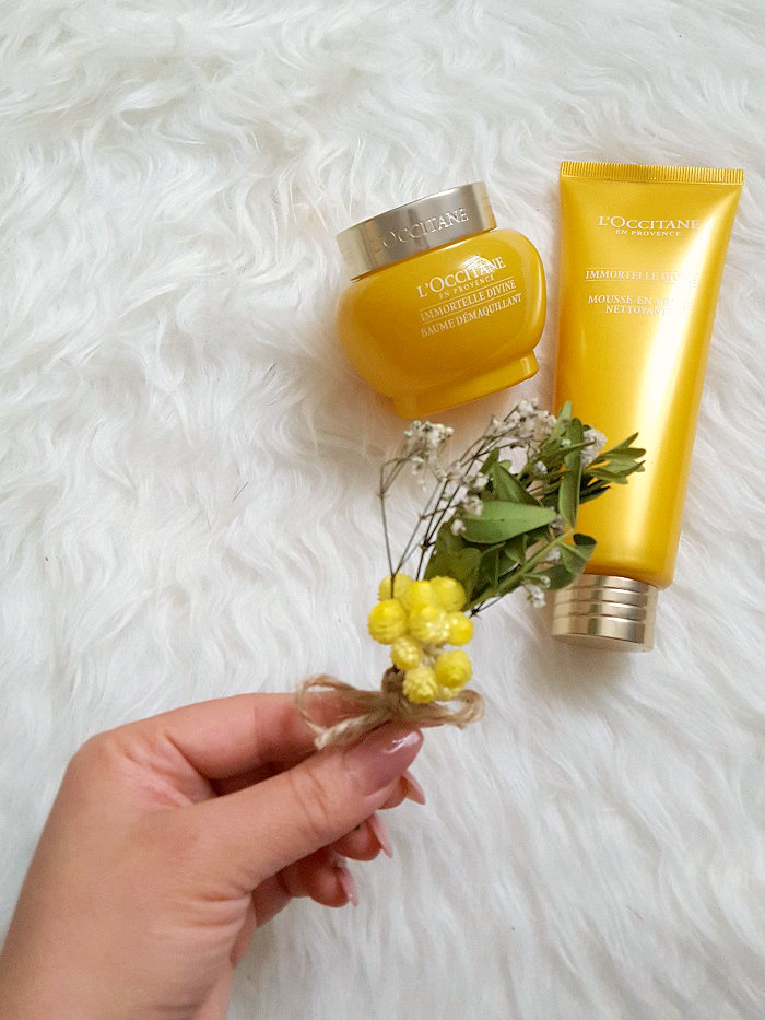 Review: L´OCCITANE - Immortelle Divine Double Cleansing - Reinigungsbalsam & Reinigungsschaum