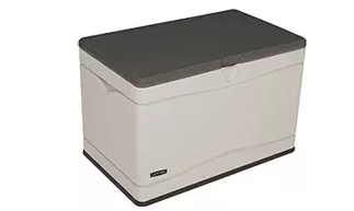 Lifetime 60103 Deck Storage Box 80 gallon, Plastic garden Storage Box, Garden Storage Box, Garden Storage Boxes, Plastic Storage Boxes, Garden Boxes, Plastic Deck Storage Container Box, Keter, Suncast, Rubbermaid, Deck Boxes, Plastic Deck Boxes, Lifetime,