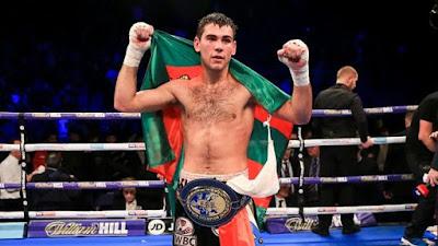 Sergio García campeón boxeo