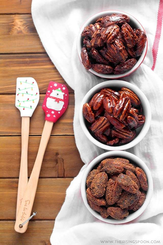 Stovetop Candied Pecans with Maple Syrup (Gluten-Free)