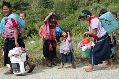 Indígenas víctimas de la violencia