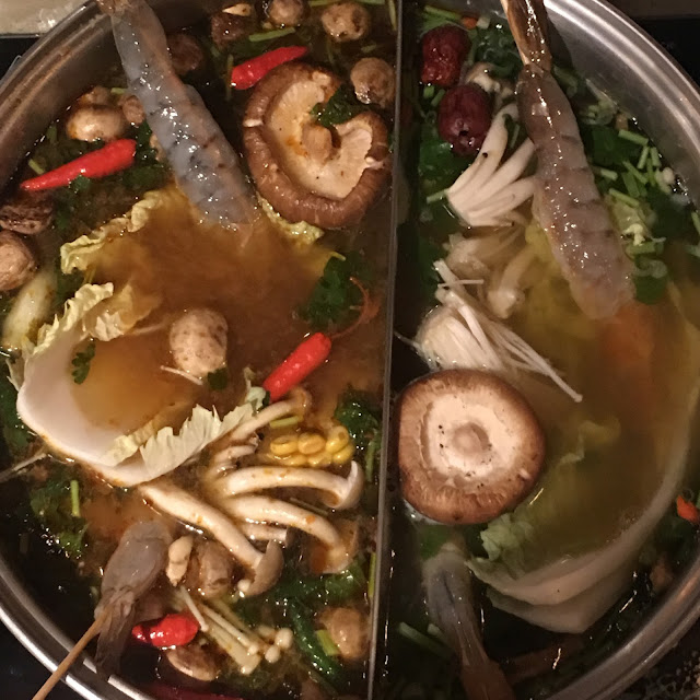 Asian hotpot at Hot Pot Chinatown London