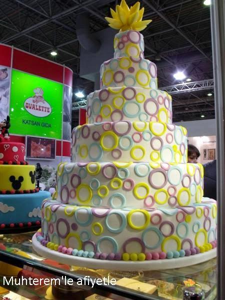 Tasarım pastalar-Ibatech 2014
