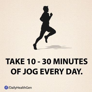 Luangkan Waktu 10 - 30 Menit Untuk Joging Setiap Hari (Identitas)
