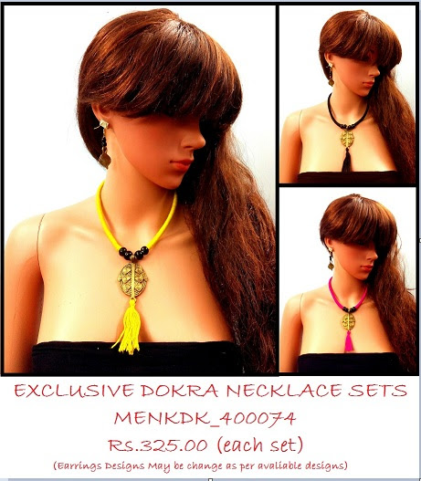 Metropolitan Fashion Dokra Necklace most exclusive and unique