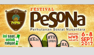 Festival PeSoNa 2017 Ajang Promosi Hasil Hutan