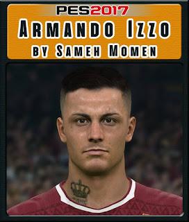 PES 2017 Faces Armando Izzo by Sameh Momen