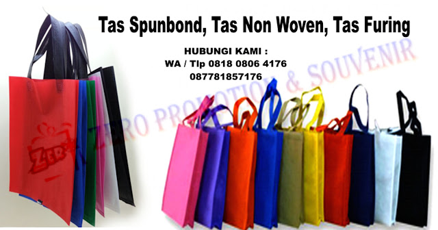 Jual Tas Spunbond Grosir, Tas ramah lingkungan, Tas Non Woven, Tas Furing dengan harga murah