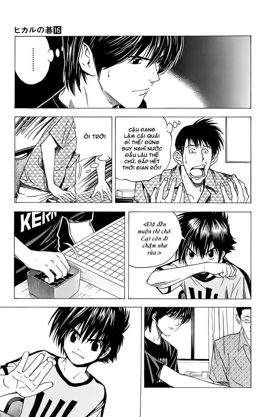 Hikaru No Go hikaru no go chap 135 trang 12