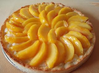 Peach Tart (Seftalili Tart)