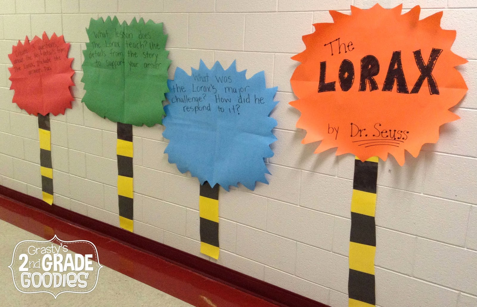 Grasty S 2nd Grade Goo S Earth Day Fun With The Lorax